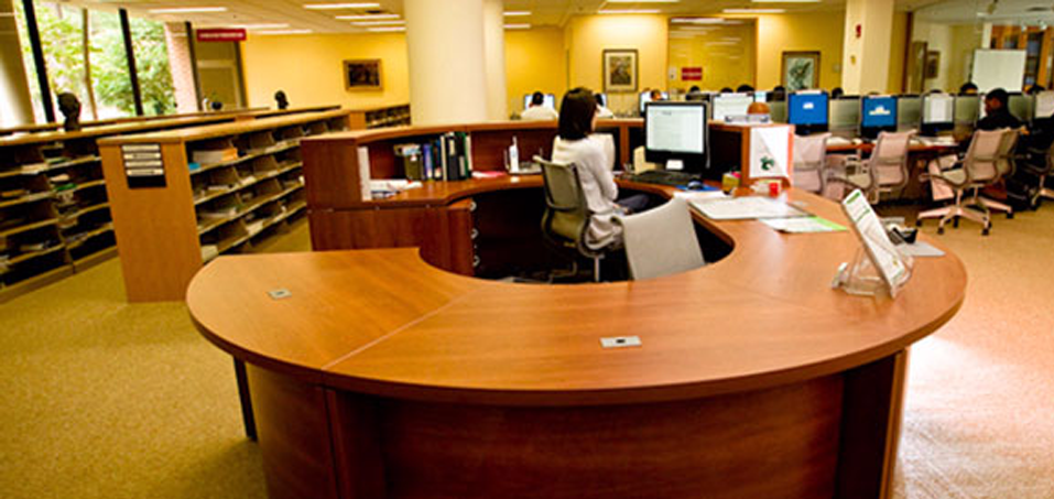 Johnson Reference desk