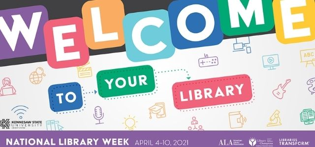 National Library Month April 2021