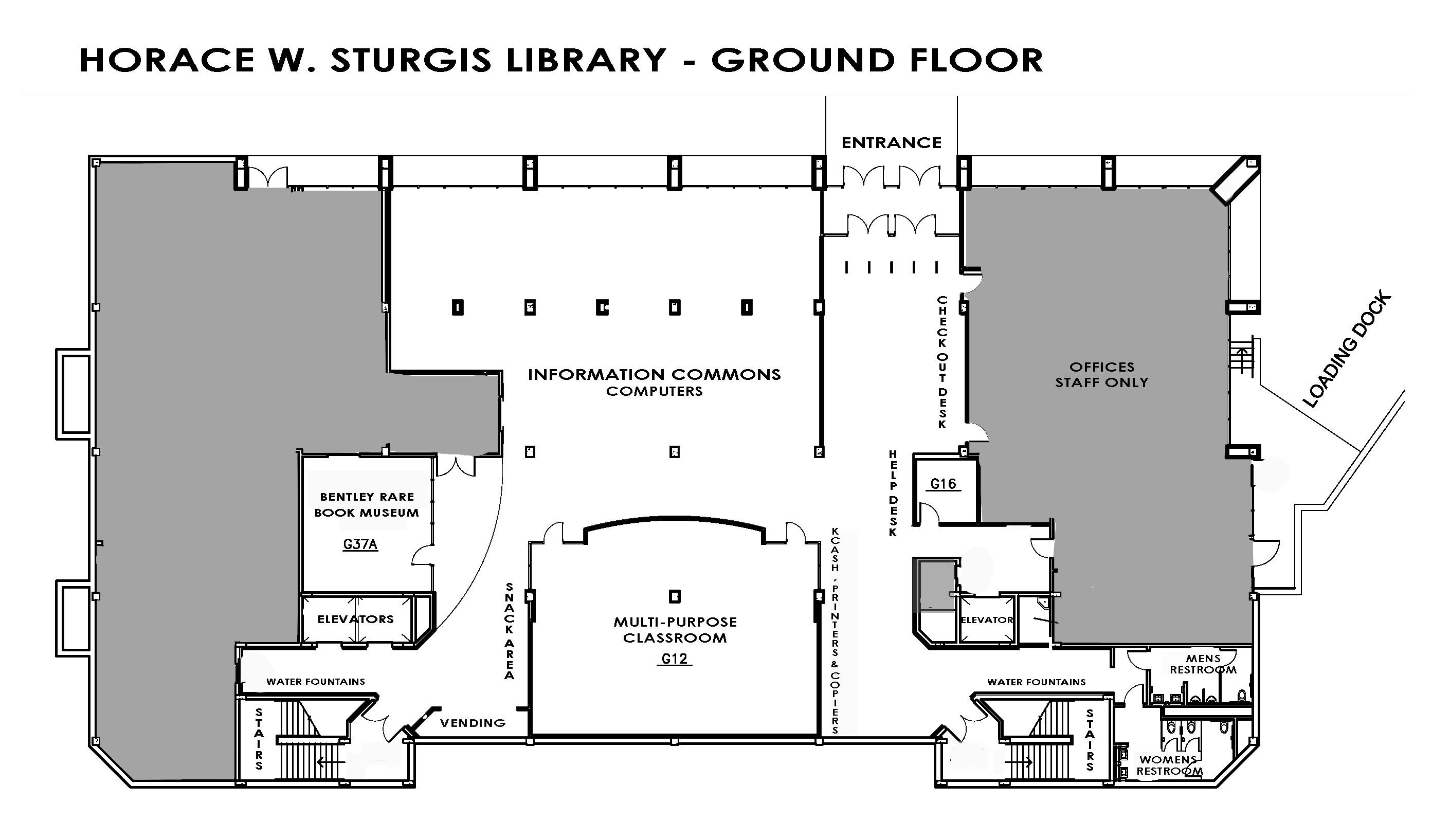 Sturgis Library Ground Floor